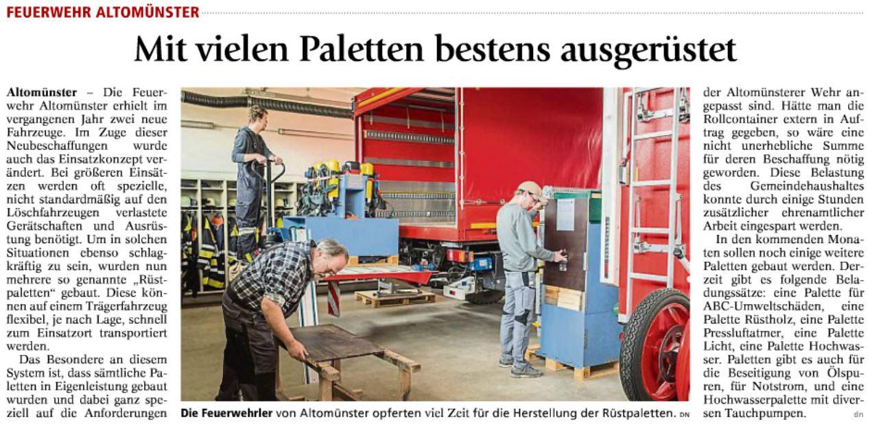 Artikel der Dachauer Nachrichten